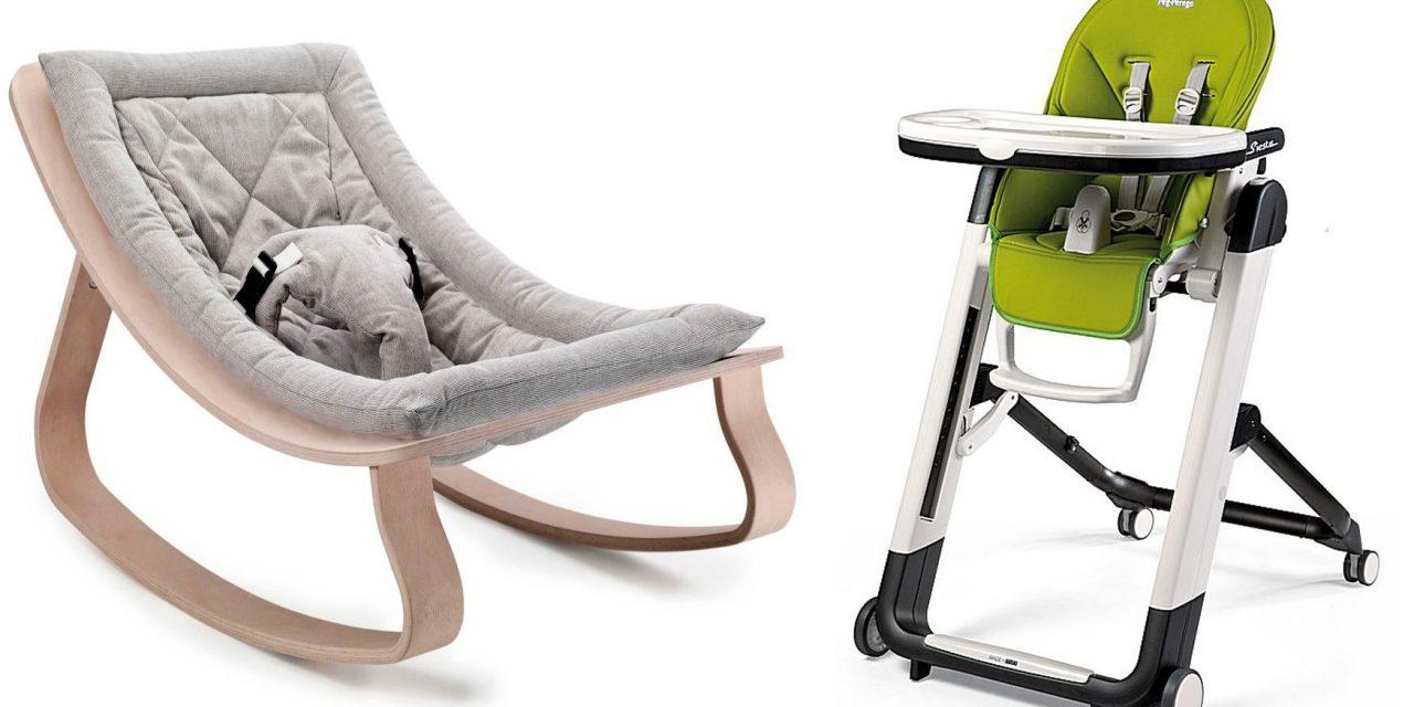 Chaises hautes et transats pour bébé