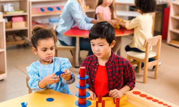 La pédagogie Montessori pour vos jeunes enfants